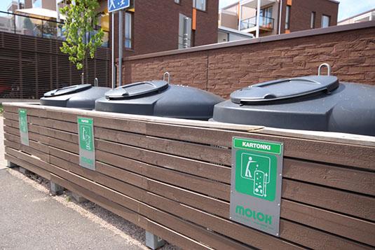 Ta-yhtiöt kierrätys